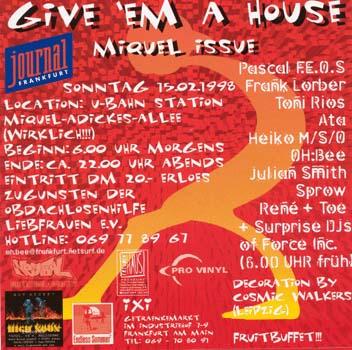 Flyer give 'em a house