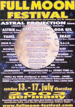 Flyer fullmoon-festival 2003