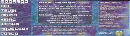 Flyer psychedelic circus