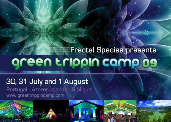 Flyer green trippin camp 09