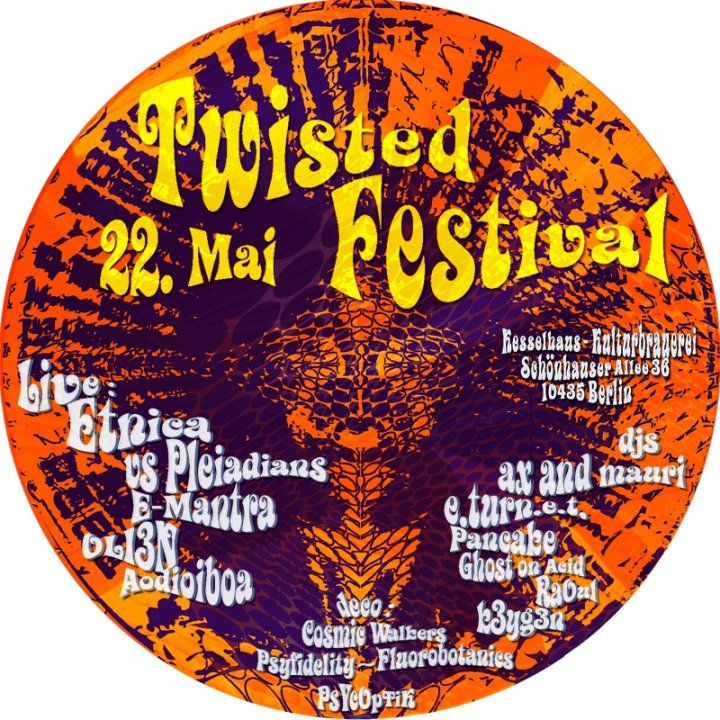 Flyer twisted festival