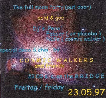 Flyer the full moon party