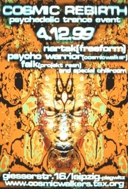 Flyer cosmic rebirth